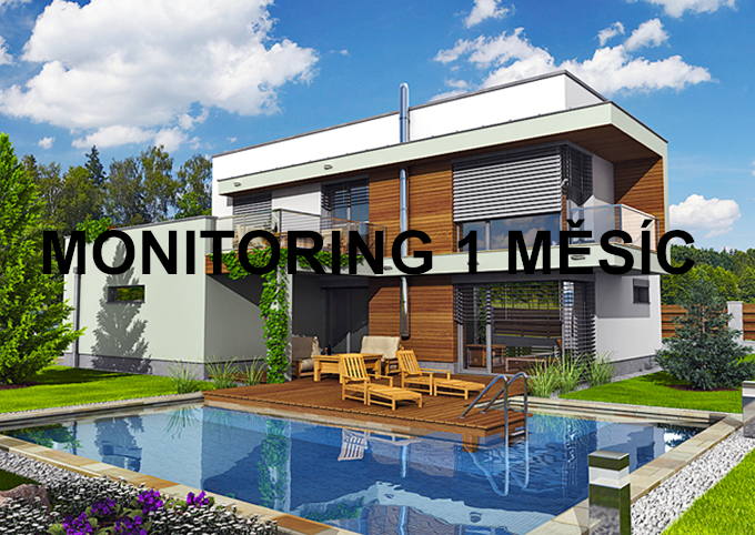 Monitoring 1 měsíc